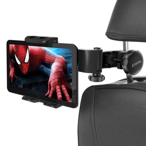 """Car Back Seat Headrest Tablet Mount Holder For 4-12/"""" iPad Tablets Adjustable UP"""