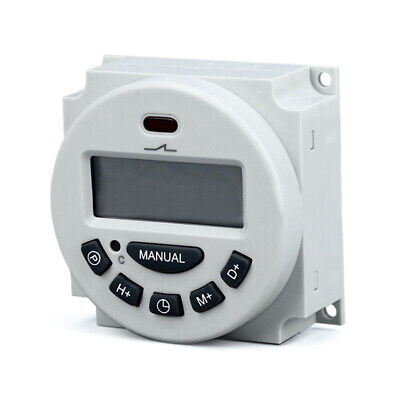 Digital Electronic Time Timer Switch Lcd Relay Weekly Programmable 12v110v220v