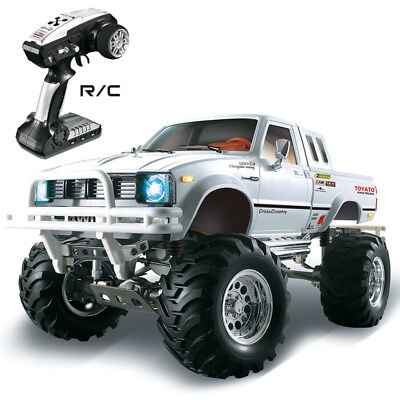 HG 1/10 RC Pickup Model 4*4 Rally Car Series Car Racing Crawler 2.4G RTR Motor