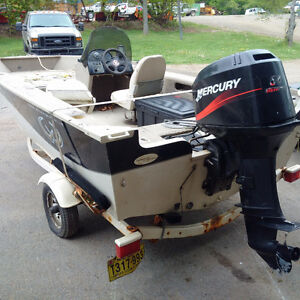 1996 Legend Xterminator with 50hp mercury
