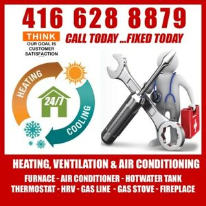 Same day furnace repair specialist 49$ Service call