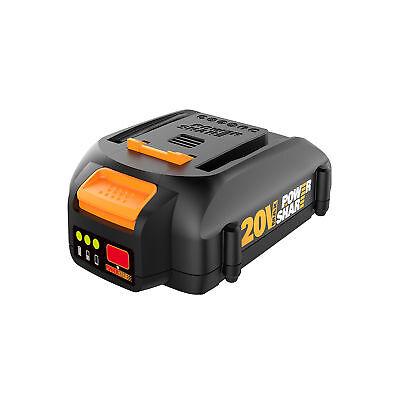 Worx Tools MaxLithium 20 Volt 2.0 Ah High Power Lithium Ion Battery   WA3575