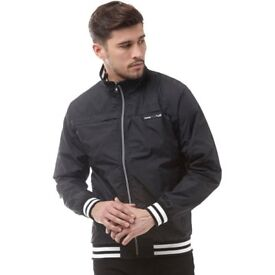 Firetrap Mens Kasai Harrington Jacket Jet Black