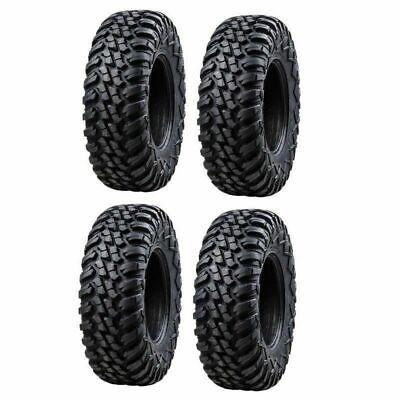 4-Tusk Terrabite Tires  Radial 8 Ply UTV Tire set 2 - 27x9-14 and 2 - 27x11-14