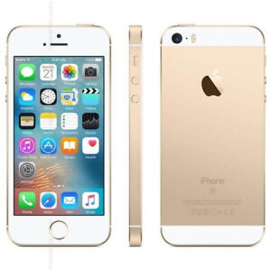 iPhone SE 16GB, Gold. Brand new, still sealed in box.