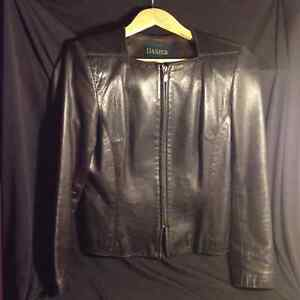 SOFT LEATHER JACKET black vintage