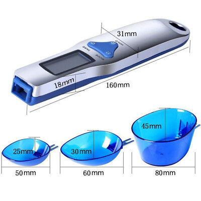 Digital Scale Spoon LCD Display Kitchen Spoon Scale 500g/0.1g Electronic Me X9J8