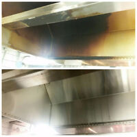 Complete Commercial kitchen exhaust hood maintenance & Cleaning