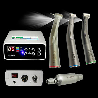 Dental Electric Micro Motor 1115161 Firber Optic Handpiece Contra Angle Us