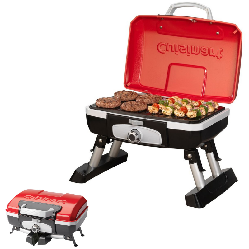 CGG-220 and CGG-240 Grills Cuisinart 20015 Portable Gas Grill ...