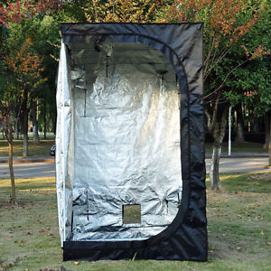 1000w Grow tent with air cooled hood and vortex 10'' with can