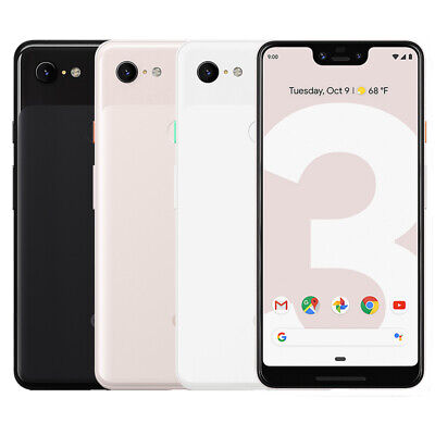 Google Pixel 3 XL 64GB Factory Unlocked 4G LTE Android WiFi Smartphone