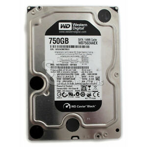 WD Black 750 GB Desktop Hard drive