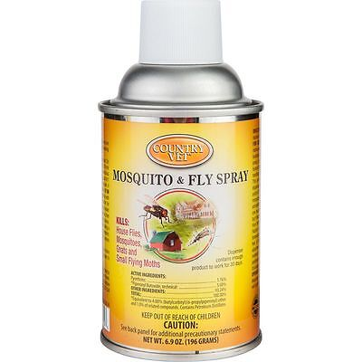 Q-mist Metered Fly Spray Refill 30 Days Of 24hr. Flying Insect Control 6.4oz.