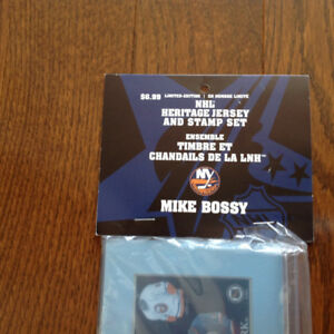 Limited Edition NHL Heritage Jersey and Stamp Set - Mike Bossy