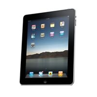 iPad 2 16GB WiFi (black) + leather case (great condition)
