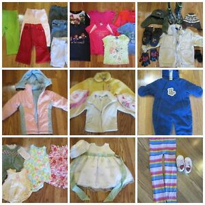 Large Baby and Children Clothing Lot!
