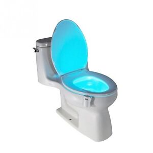8 colors Body Motion Sensor LED Toilet Light - Motion Activated London Ontario image 2