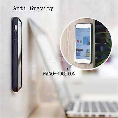 Nano Suction Tech Anti Gravity Back Cases Cover for iPhone 7 plus US