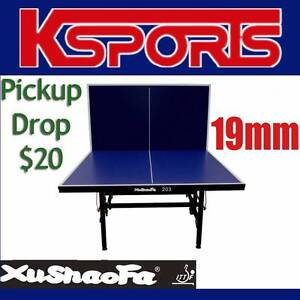 Xu Shao Fa 19mm Championship Table Tennis/Ping Pong Table - NEW Somerton Hume Area Preview