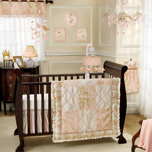 Lambs & Ivy Little Princess 5 Piece Crib Set