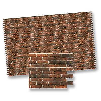 Dollhouse Miniature 1:12 Antique Brick Wall Material by World Model Miniatures