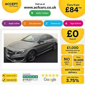 Mercedes-Benz CLA 180 FROM £84 PER WEEK!