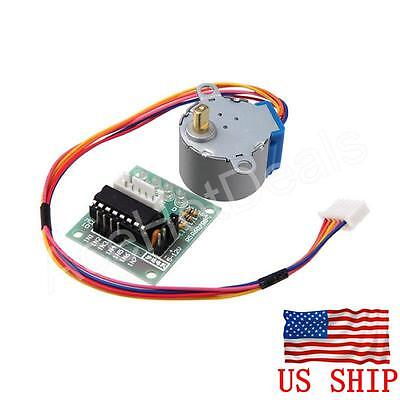 Dc 5v Stepper Motor Uln2003 Driver Test Module Board 28byj-48 For Arduino