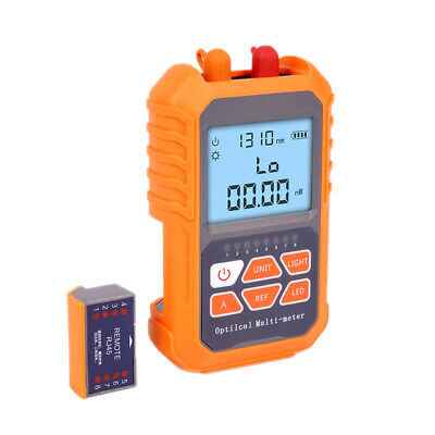 1x3in1 Optical Power Meter Visual Fault Locator Network Cable Test Led Li Q5r9