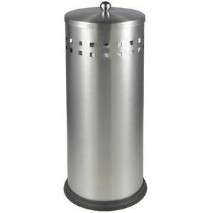 Toilettenpapierhalter Edelstahl Toilettenpapierständer WC-Ersatzpapierhalter