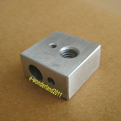 Heater Aluminium Block Assembly For Makerbot Reprap 3d Printer Extruder Hot End