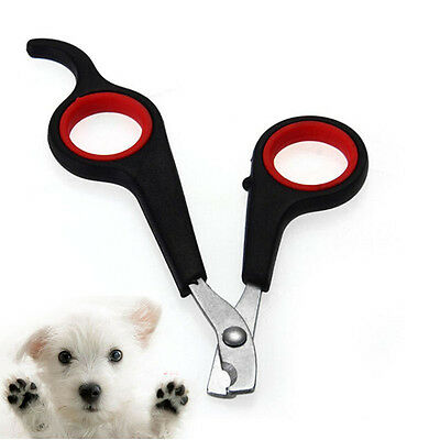 Nail Pet Grooming Clipper Scissors Dog Trimmer Cat Bird Toe Cutter Claw CareVKCA