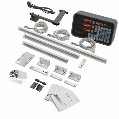 3 Axis M-dro Lathe Digital Readout Package Including 350mm 450mm And 750mm ...
