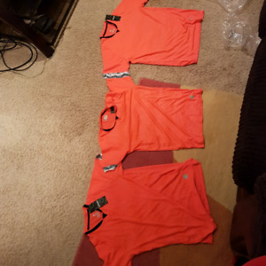 3 football soccer sports shirts for sale. New with tags.