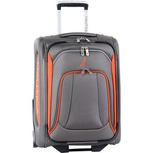 "1 time used Nautica 20"" Expandable Upright Carry-on Luggage"