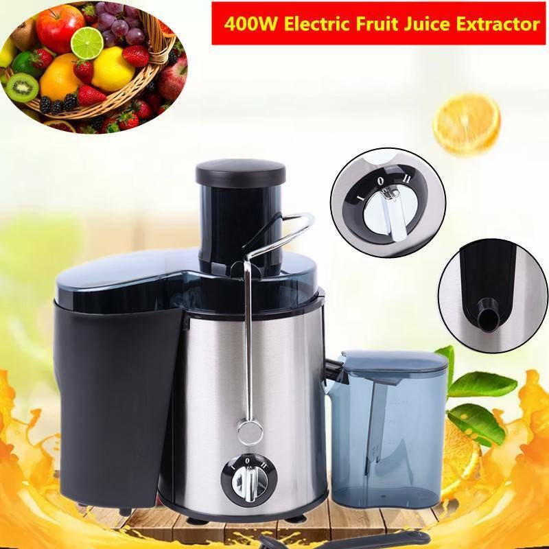 400W Electric Juicer Juice Machines Extractor Centrifugal Fr