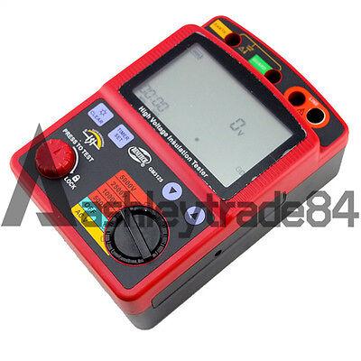 Insulation Resistance Tester Meter Megger1t Ohm Dar Pi Gm3125 High Voltage 5kv