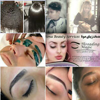 Threading /waxing / keratin/welcome room for hajib women