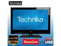 technika lcd39c273 . free view build in . good condition