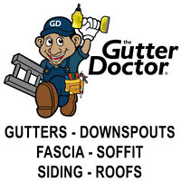 Eavestroughing / home exterior technician. $25-$50/hr. Immediate