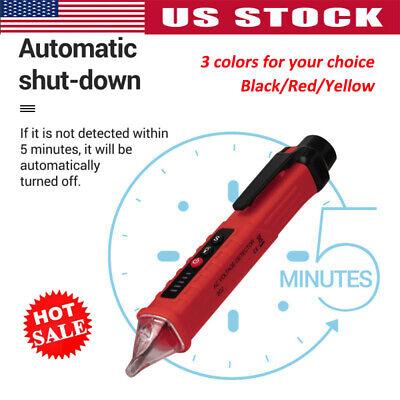 12-1000v Led Electric Socket Wall Ac Power Detector Sensor Tester Voltage Pen Us