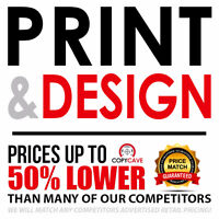 PRINT & DESIGN Business Cards, Flyers, Outdoor Vinyl & Much More
