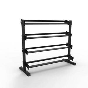 ARMORTECH V2 4 TIER DUMBBELL STORAGE RACK *GREAT FOR HOME OR GYM*