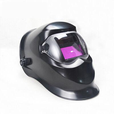 Deko Black Solar Auto Darkening Mig Mma Electric Welding Mask Welding Helmet