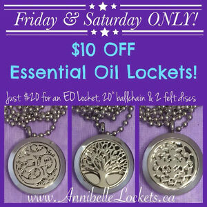 *hot sale* essential oil Lockets save $10!