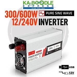 Pure Sine Wave Inverters - Various Sizes! NEW! FREE DELIVERY! Brisbane City Brisbane North West Preview