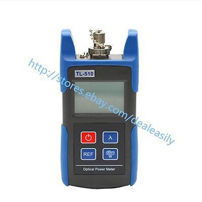 Mini Tl510a Ftth Fiber Opric Optical Power Meter -7010 Dbm Fc Sc St Conne
