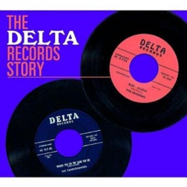 THE DELTA RECORDS STORY  CD  22 TRACKS BLUES ROCK  NEU