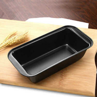 Home Rectangle Bread Cake Mold Non Stick Carbon Steel Loaf Baking Pan Bakeware