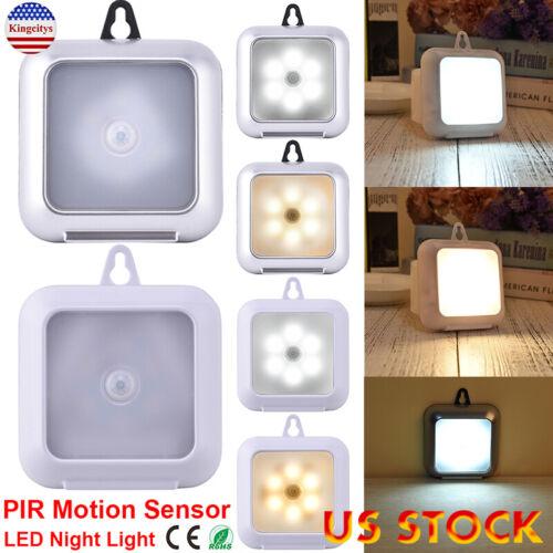 LED PIR Motion Sensor Cabinet Lights With Hook Ultra Slim Po